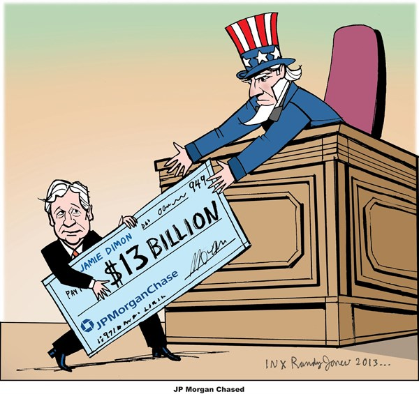 JPMorgan cartoon