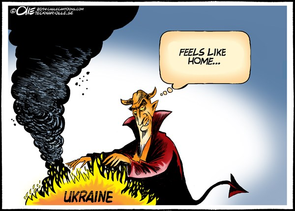 144689 600 Ukraine is burning cartoons