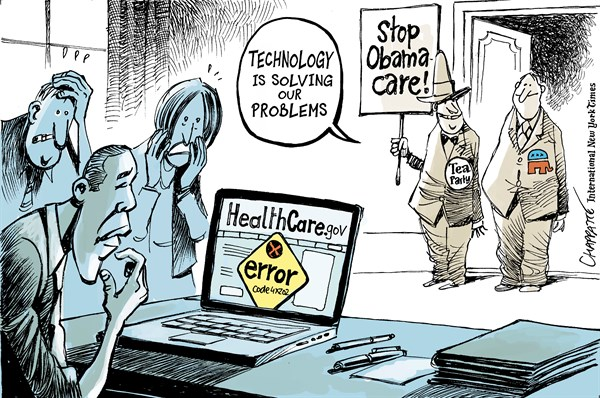 139254 600 Obamacare website glitches cartoons