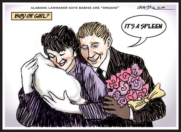 127474 600 Alabama lawmaker says babies are organs cartoons