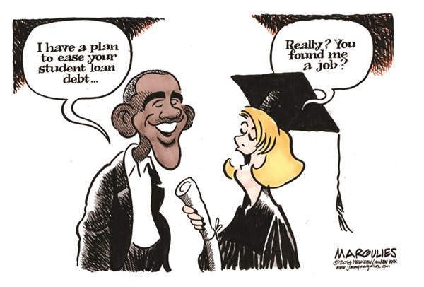 149763 600 Obama Student loan plan cartoons