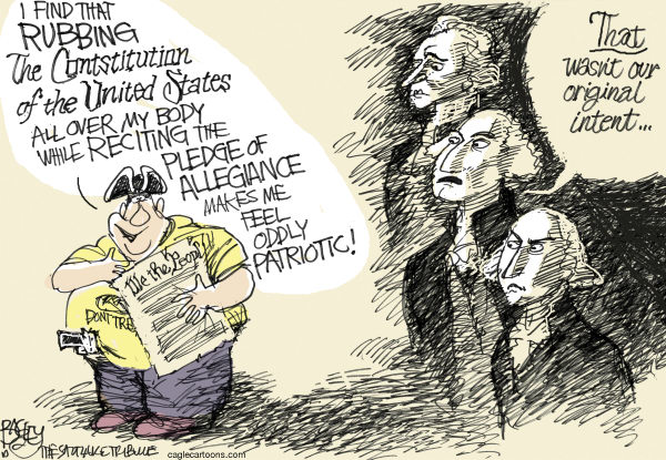 87776 600 Our Religion of The Founding Fathers cartoons