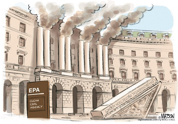 RJ Matson - Roll Call - EPA Clean Coal Emissions-COLOR - English - EPA Clean Coal Emissions,EPA,Environment,Environmental,Protection,Agency,Global,Warming,Carbon,CO2,Emissions,Pollution,Clean,Coal