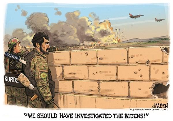 Editorial Cartoon: No Kurd Pro Quo