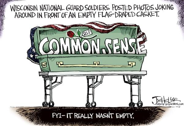 144703 600 Military Coffin cartoons