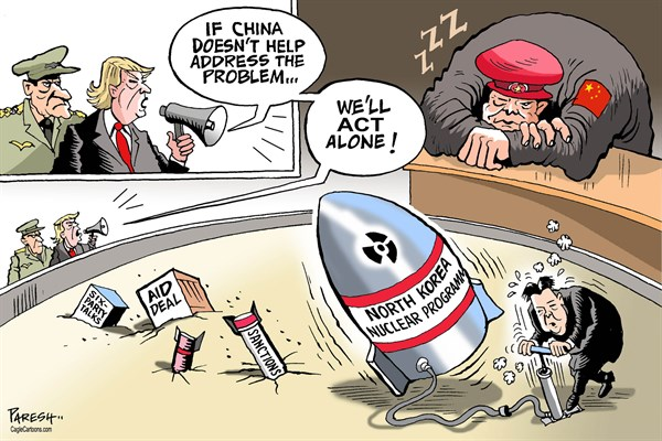 Image result for cartoons communist china and north korea