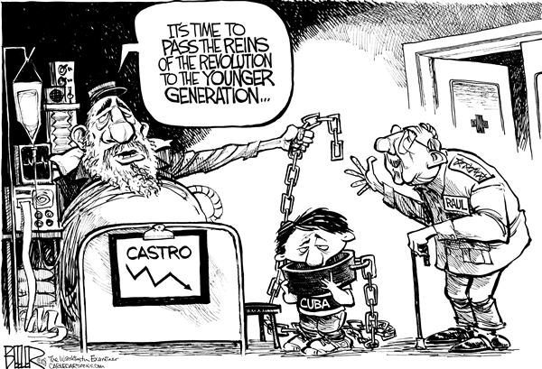 Image result for CARTOONS ABOUT FIDEL CASTRO DICTATOR