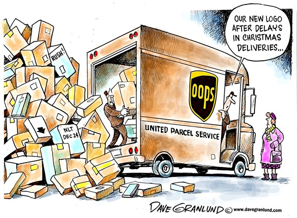 142356 600 UPS delivery delays cartoons