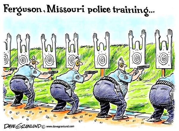 152279 600 Ferguson MO shooting cartoons