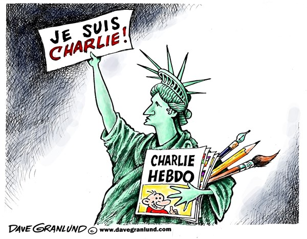 158416 600 Charlie Hebdo tribute cartoons