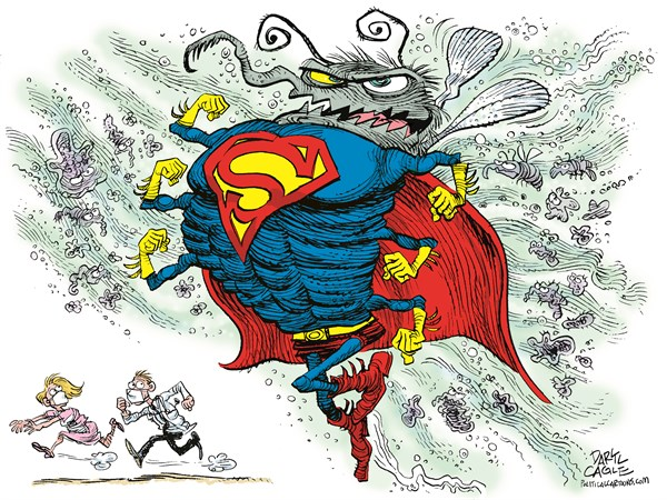 Image result for superbug cartoon