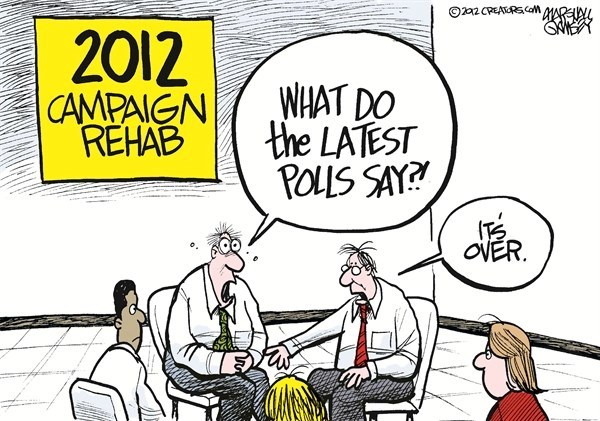 Campaign Rehab © Marshall Ramsey,The Clarion Ledger, Jackson Mississippi,election polls,rehab,campaign,issues,four-more-years,election-over-2012,election over 2012, four more years, voters 2012