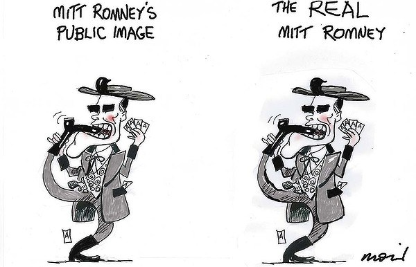 Romneys Image © Moir,The Morning Herald, Sydney Australia,romney,public,image,video,taxpayers,romney-video-leak