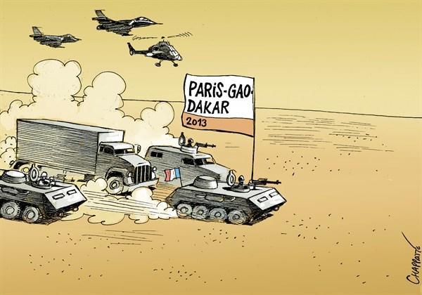 TLAXCALA: La France intervient au Mali et réaffirme son rôle de ...
