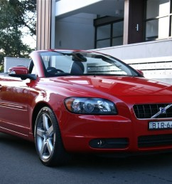 volvo c70 review road test [ 1200 x 1200 Pixel ]