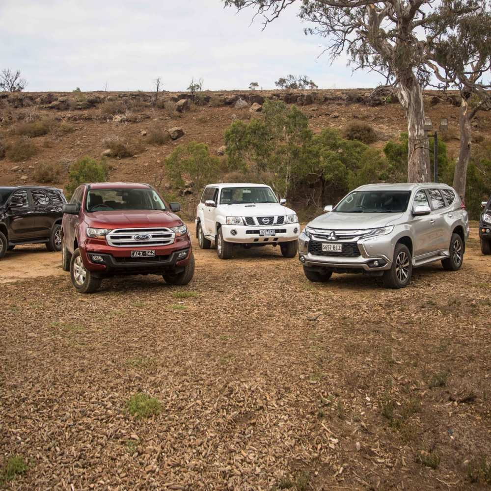 medium resolution of family 4x4 suv comparison ford everest v isuzu mu x v mitsubishi pajero sport v toyota fortuner v nissan patrol caradvice