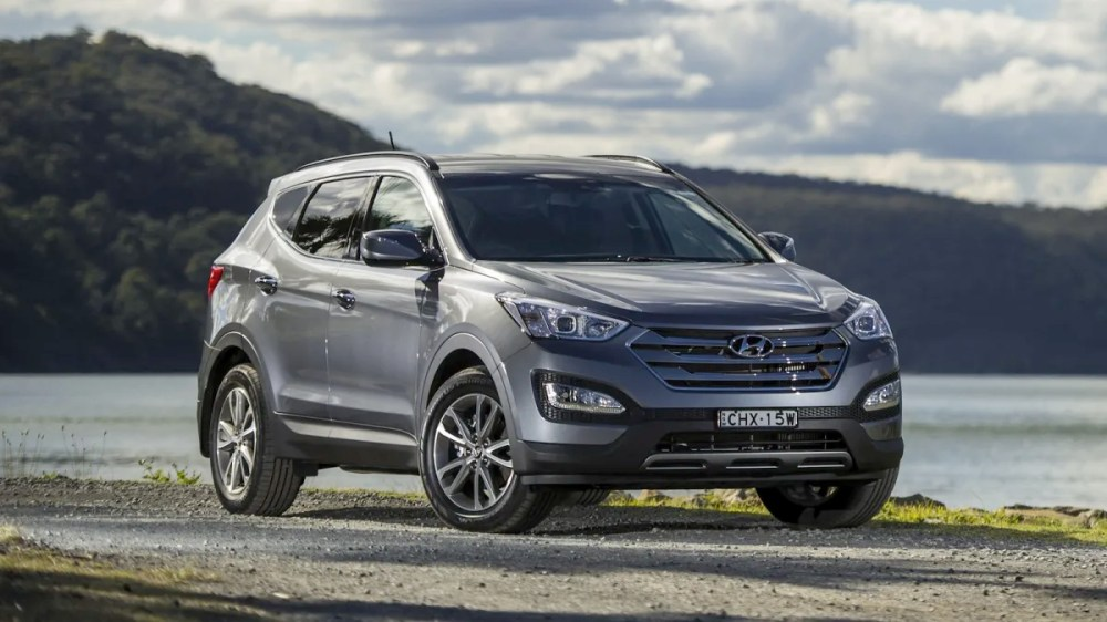 medium resolution of hyundai santa fe heavy duty towing kit boosts down ball rate to 150kg caradvice