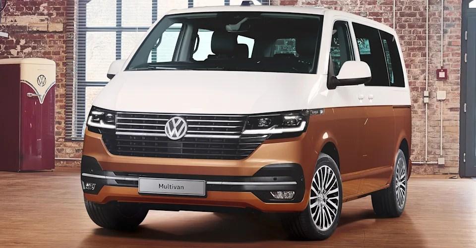 2020 Volkswagen Transporter Multivan Caravelle Revealed