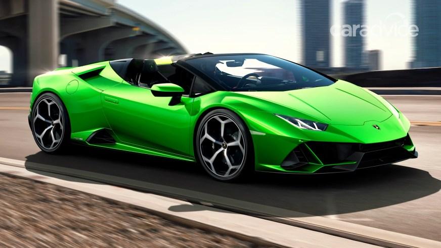 2020 Lamborghini Huracan Evo Spyder revealed - UPDATE ...