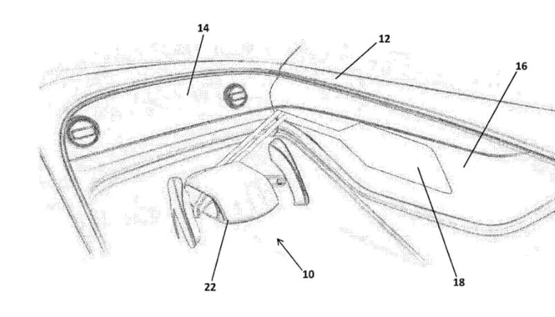 Bentley files patent for steering wheel that tucks away