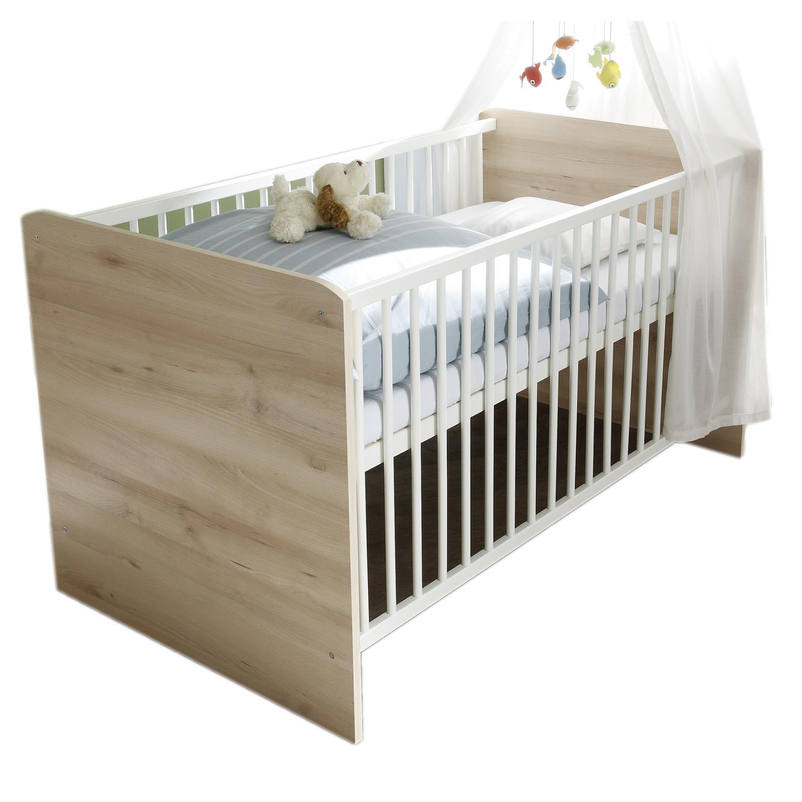 Babybett 70X140 Cm Gitter Beistell Junior Kinderzimmer Möbel In