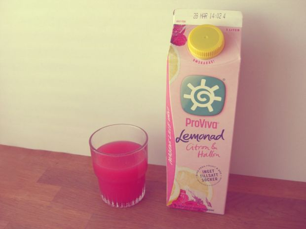 ProViva Lemonad Citron & Hallon