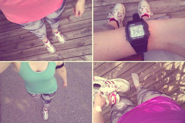 att bli en löpare och förbereda för blodomloppet