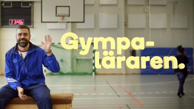 Gympaläraren med Kalle Zackari Wahlström