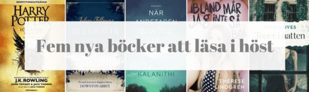 Fem nya böcker att läsa i höstmörkret