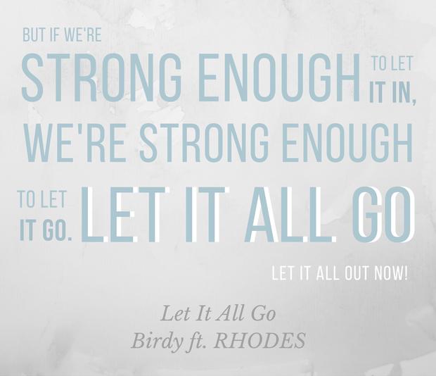 Let It All Go - Birdy dags att släppa taget om det förflutna