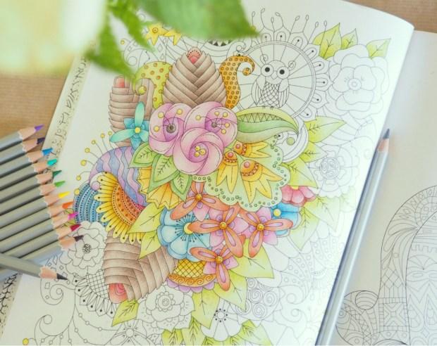 Min rogivande målarbok från Bokförlaget Semic