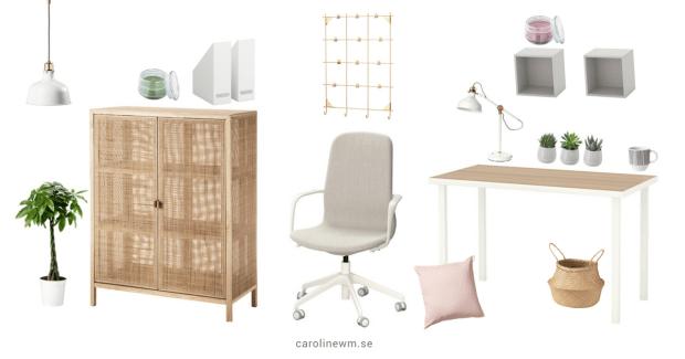 Drömmen om det perfekta hemmakontoret - Produkter från IKEA
