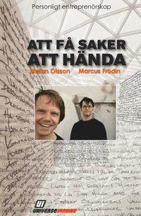 Boken Personligt entreprenörskap, av Stefan Olsson & Marcus Frödin