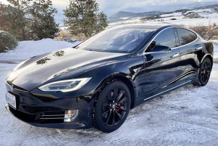 2018 Tesla Model S P100d Auction Cars Bids