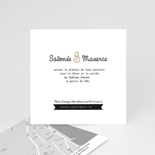 carton invitation personnalise graphic chic