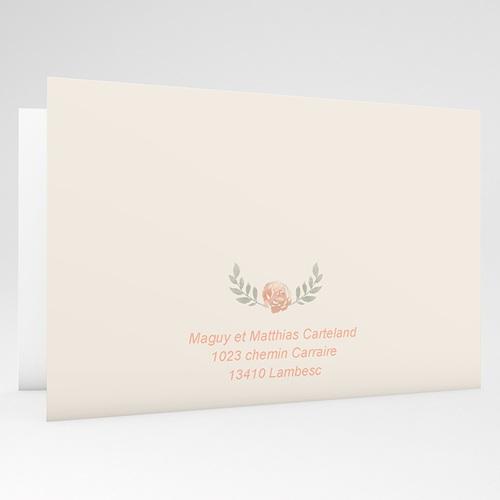 carte invitation anniversaire mariage noces de rose 17 ans de mariage