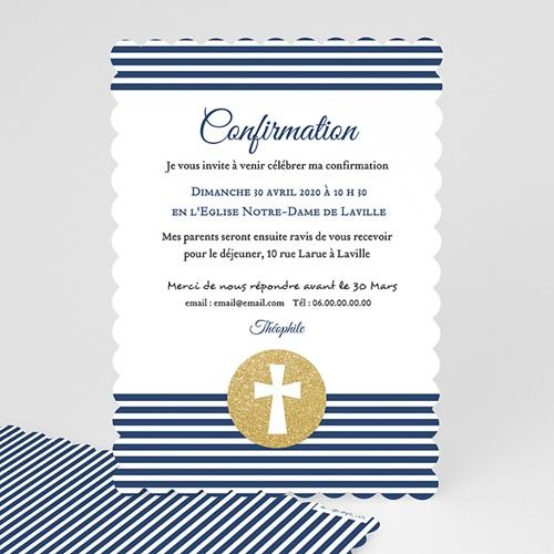 carte invitation confirmation confiance en l eternel