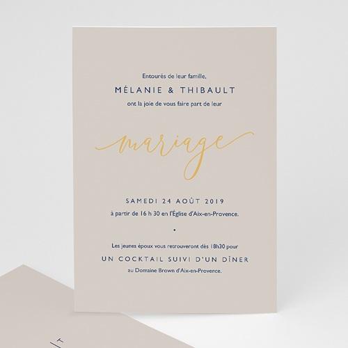 faire part mariage texte minimaliste