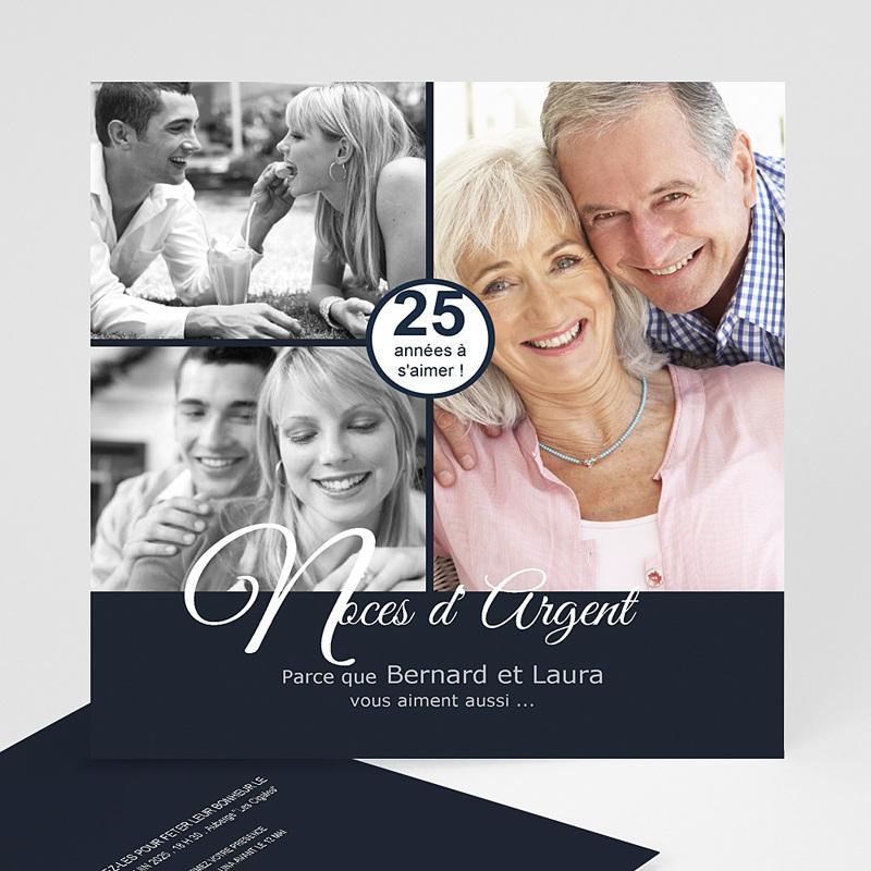 Invitations Anniversaire Mariage Evnement Lgant