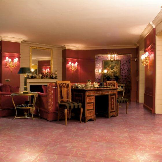 cotto floor tile petracer s rinascimento rame 60x60 cm
