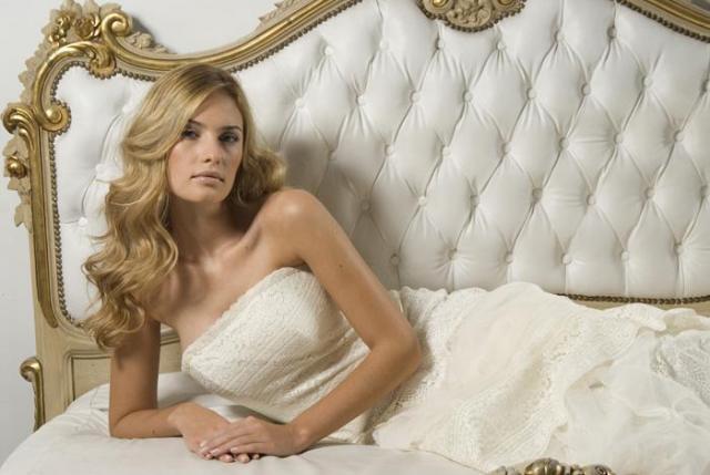 vestido de novia por pia carregal, coleccion 2013 vestido de novia con encaje