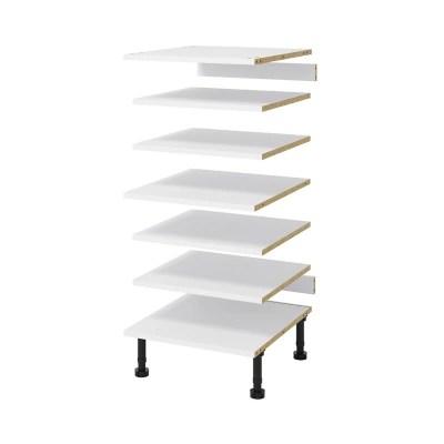 etagere pour colonne goodhome cicely l 50 cm x p 57 cm 1 piece