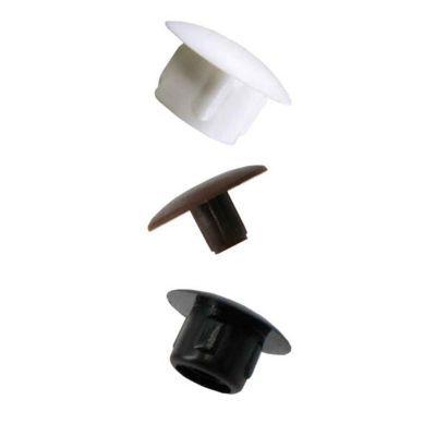 16 obturateurs cache trous plastique blanc o10 mm