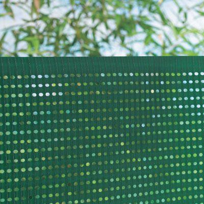 Ecran jardin polythylne Blooma vert 3 x h1 m  Castorama