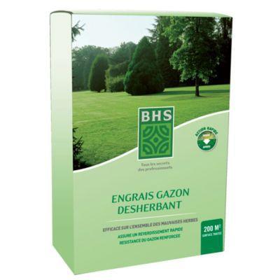 Engrais gazon desherbant BHS 8kg  Castorama