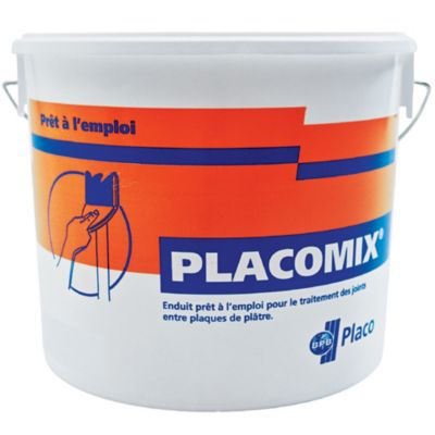 Enduit Placo Placomix prt  lemploi 5kg  Castorama