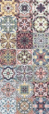 tapis carreaux de ciment castorama