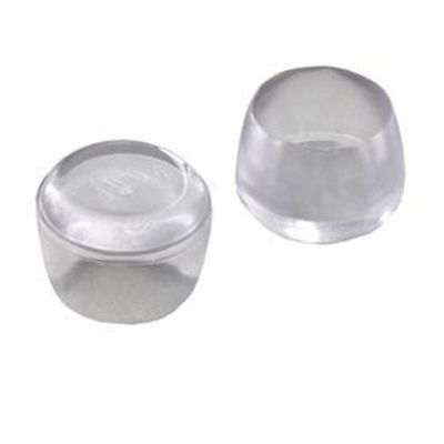 4 embouts caoutchouc transparent diall o16 mm