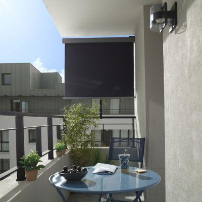 Brise vue rtractable pour balcon Blooma Liso  Castorama