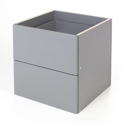 caisson coloris gris 3 tiroirs form